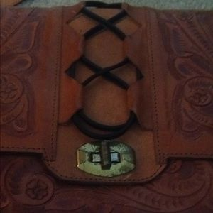 Bags - Mode-Mex Pressed Leather Purse